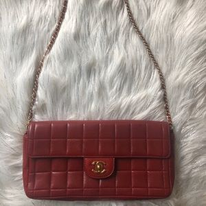 Chanel Bag 100% authentic dark red
